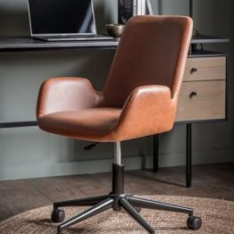Faraday Swivel Chair - Brown