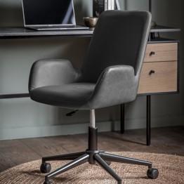 Faraday Swivel Chair - Charcoal