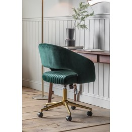 Murray Swivel Office Chair - Green