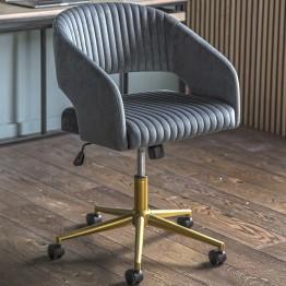 Murray Swivel Office Chair - Charcoal