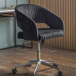 Murray Swivel Office Chair - Black