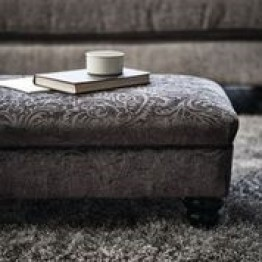 Duresta Southsea Footstool - FREE FOOTSTOOL OFFER UNTIL 1st MARCH 2021 - CALL US FOR DETAILS.