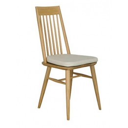 Ercol Capena 3572 dining chair with padded seat