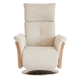 Ercol Ginosa Swivel Recliner - Fabric