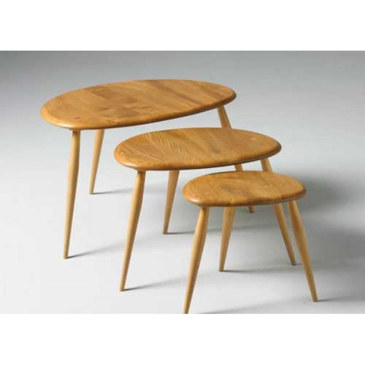 Ercol furniture 354 originals nest of tables ercol for Furniture 4 u