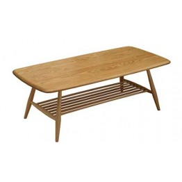 Ercol Furniture 460 Originals coffee table with walnut top
