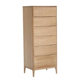 Ercol Rimini 3285 6 drawer tall chest