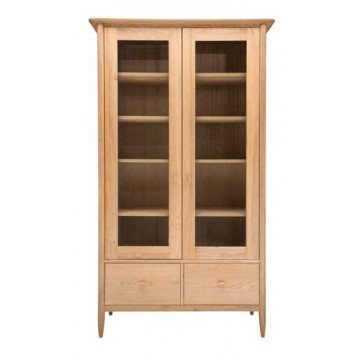 Ercol Teramo 3666 Display Cabinet - Discontinued model, stock levels dropping so order quickly.