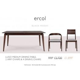 Ercol Lugo Dining Set - ** BLACK FRIDAY DEAL 2020 ** - Ends 30th November 2020.