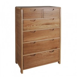 Ercol Bosco 1363 Six Drawer Tall Wide Chest of Drawers - IN STOCK & AVAILABLE