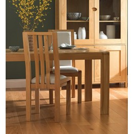 DINING SET PROMOTION Ercol Bosco 1380 Medium Extending Dining Table  & 4 * 1383 Chairs & 2 * 1392 Chairs - 2 Chairs Free in the Set - Cream Seats