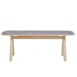 Ercol Furniture 4265 Corso Medium Bench With Seat Pad