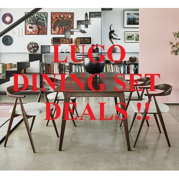 Ercol Lugo Dining Set Prices - Configure your perfect Lugo Dining Set