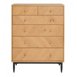 Ercol 4187 Monza 6 Drawer Tall Wide Chest - SPECIAL PROMOTIONAL PRICE UNTIL 30th NOVEMBER 2021!!