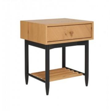 Ercol 4183 Monza 1 Drawer Bedside Cabinet