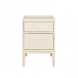 Ercol Salina 3885 Two Drawer Bedside Cabinet