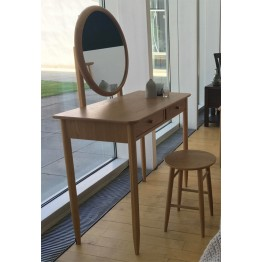 Ercol Teramo 2610 & 2612 Dressing Table & Stool Together - SPECIAL SET OFFER UNTIL 30TH AUGUST 2019