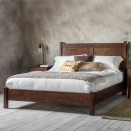 "Boho Retreat Low End 4'6"" Bed"