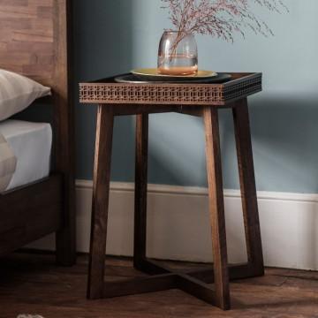 Boho Retreat Bedside Table