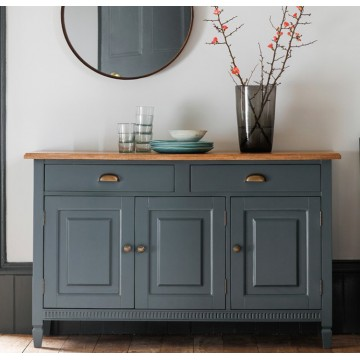 Hudson Living Bronte Sideboard with 3 doors and 2 drawers