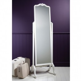 Frank Hudson Chic Cheval Mirror - Weathered or Chalk