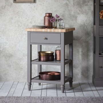 Hudson Living Cookham Butchers Block in Grey