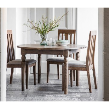 Hudson Living Cookham Round Extending Dining Table in Oak