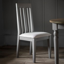 Hudson Living Cookham Dining Chair in Grey