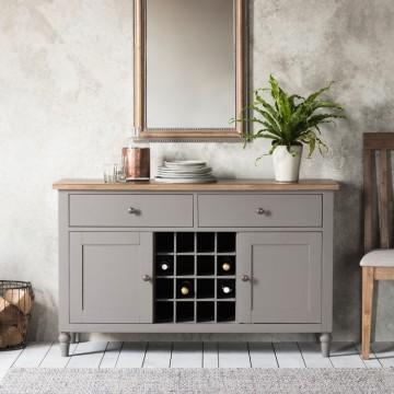 Hudson Living Cookham Sideboard in Grey