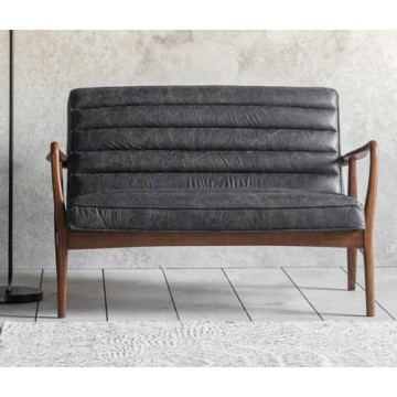 Frank Hudson Datsun Sofa in Antique Ebony
