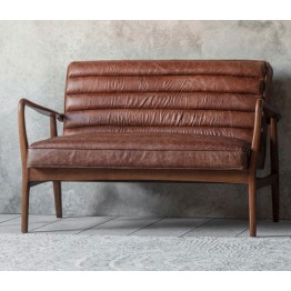 Frank Hudson Datsun Sofa in Vintage Brown