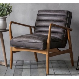 Frank Hudson Datsun Chair in Antique Ebony