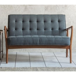 Frank Hudson Humber Sofa in Dark Grey
