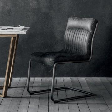 Hudson Living Capri Dining Chair - ANTIQUE EBONY COLOUR