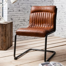 Hudson Living Capri Dining Chair - BROWN COLOUR