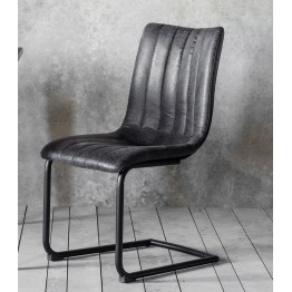 Hudson Living Edington Dining Chairs - Only available as a pack of 2  - GREY COLOUR