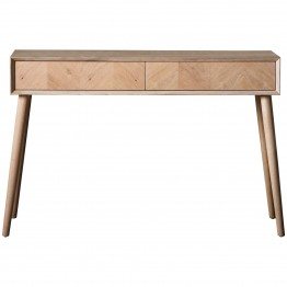 Hudson Living Milano 2 Drawer Console Table