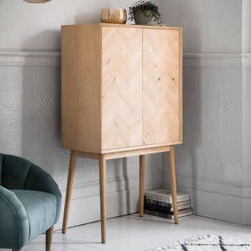 Hudson Living Milano 2 Door Cocktail Cabinet