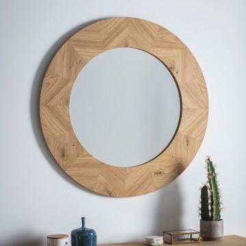 Hudson Living Milano Round Mirror