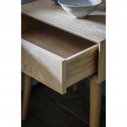 Hudson Living Milano 1 Drawer Side Table