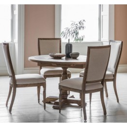 Frank Hudson Mustique Round Extending Dining Table