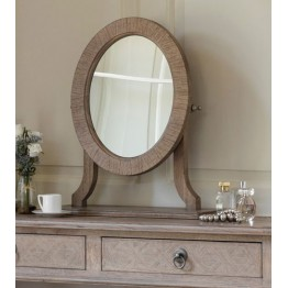 Frank Hudson Mustique Oval Dressing Table Mirror
