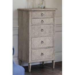 Frank Hudson Mustique 5 Drawer Lingerie Chest