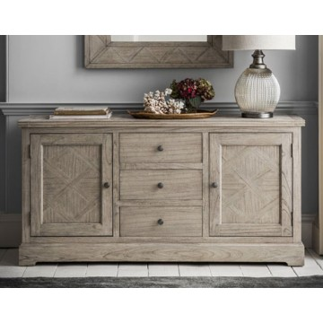 Frank Hudson Mustique 2 Door 3 Drawer Sideboard