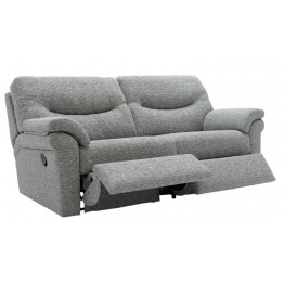 G Plan Washington Fabric - 3 Seater Powered Recliner Sofa Double