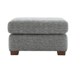 G Plan Washington Fabric - Footstool with fixed top