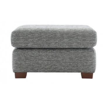 G Plan Washington Fabric - Footstool with fixed top