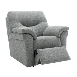 G Plan Washington Fabric - Powered Recliner