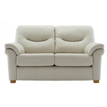 G Plan Washington Leather - 2 Seater Sofa