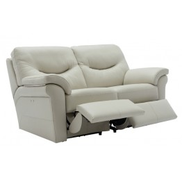 G Plan Washington Leather - 2 Seater Powered Recliner Sofa Double